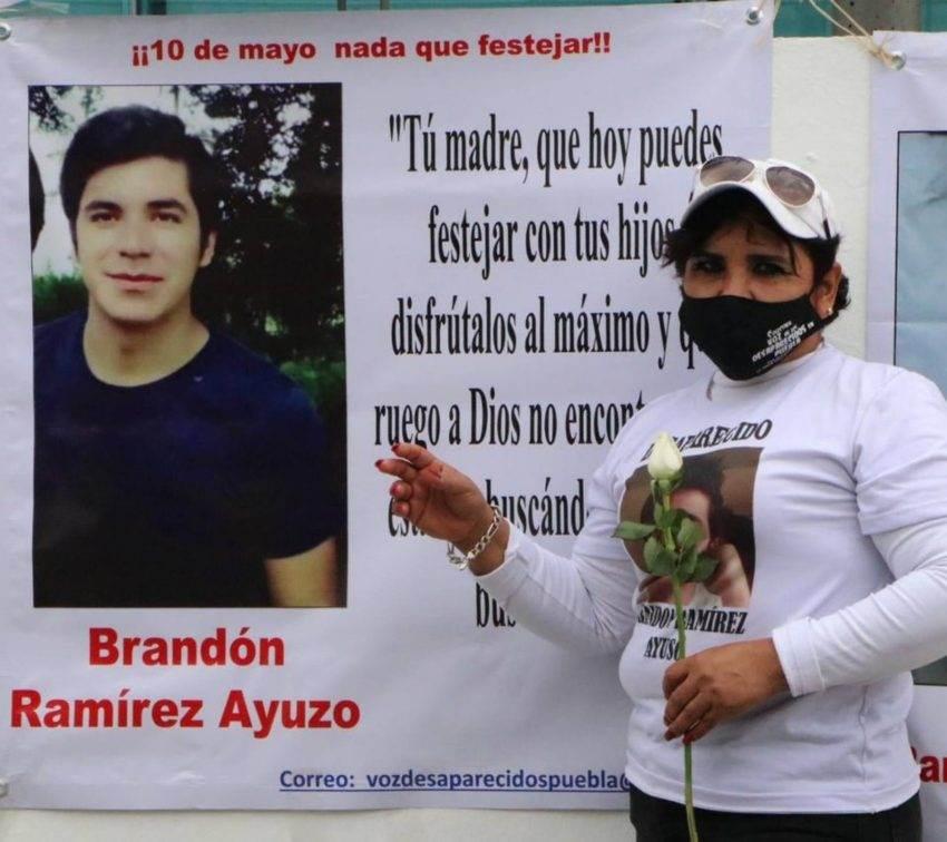 10 de Mayo: día de protesta entre las madres de los desaparecidos en Puebla