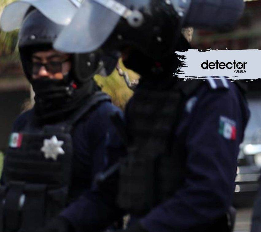 Falso que se entregaran policías municipales de Puebla al gobernador