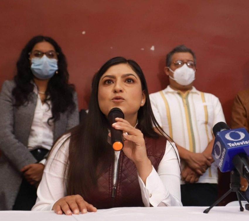 Claudia Rivera acepta resultados en la elección por la alcaldía de Puebla