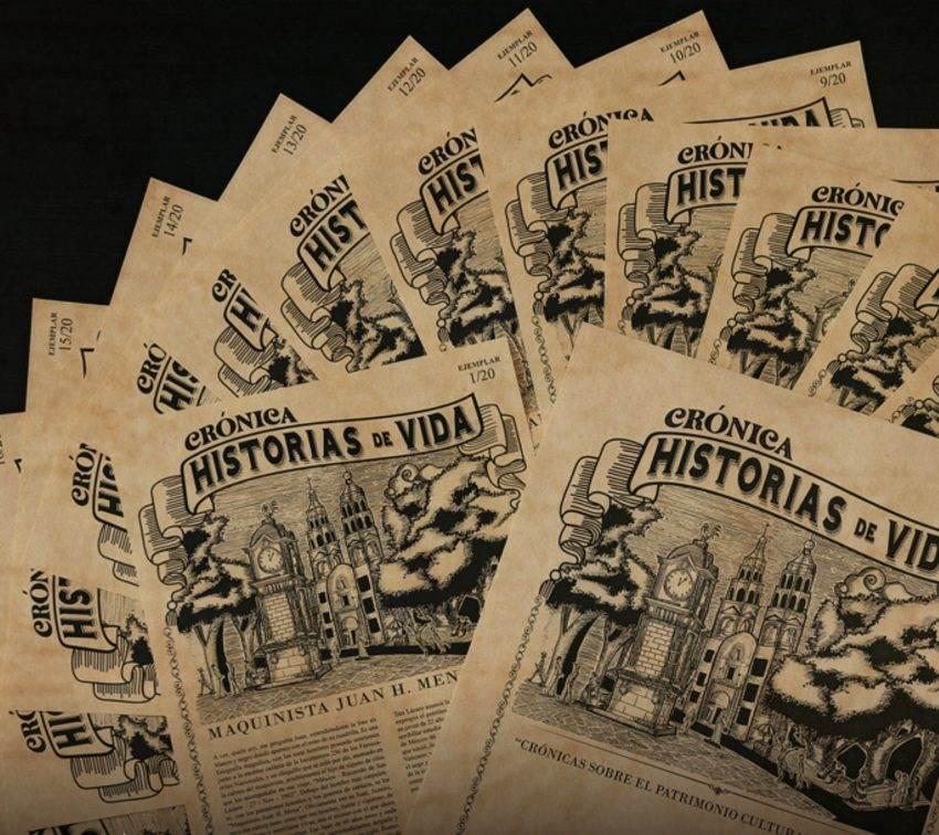 Un libro con historias de personas que vivieron en el Centro Histórico de Puebla