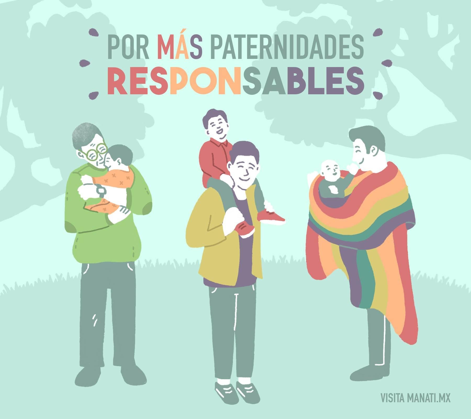 Día del padre paternidades responsables