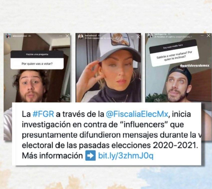 FGR inicia investigación contra «influencers» del PVEM