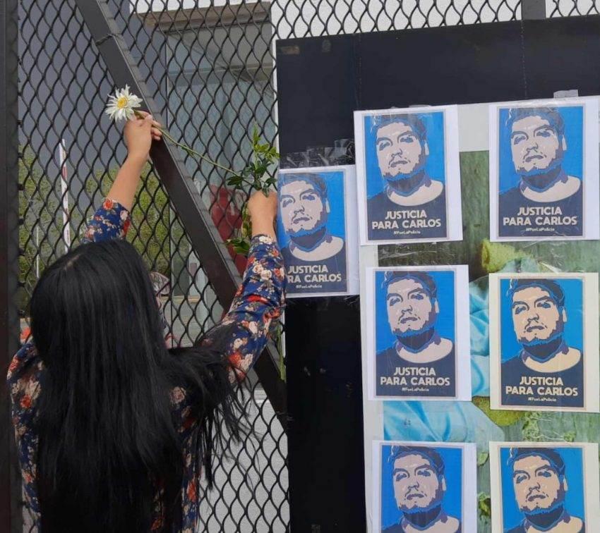 Exigen justicia para Carlos Portillo, joven artista muerto a manos de la policía