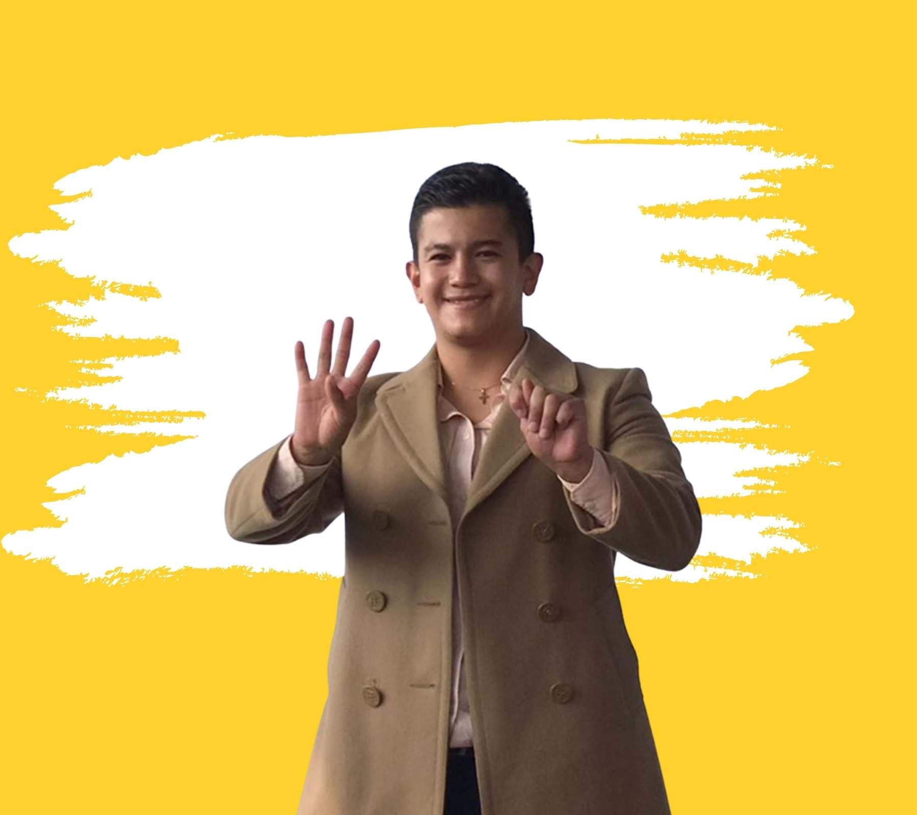 Victor Zurita primer diputado sordo Mihoacán