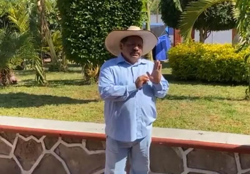 En la imagen, Adán Calixto Guerra, ciudadano que resultó con más votos por la presidencia municipal de Ahuehuetitla.