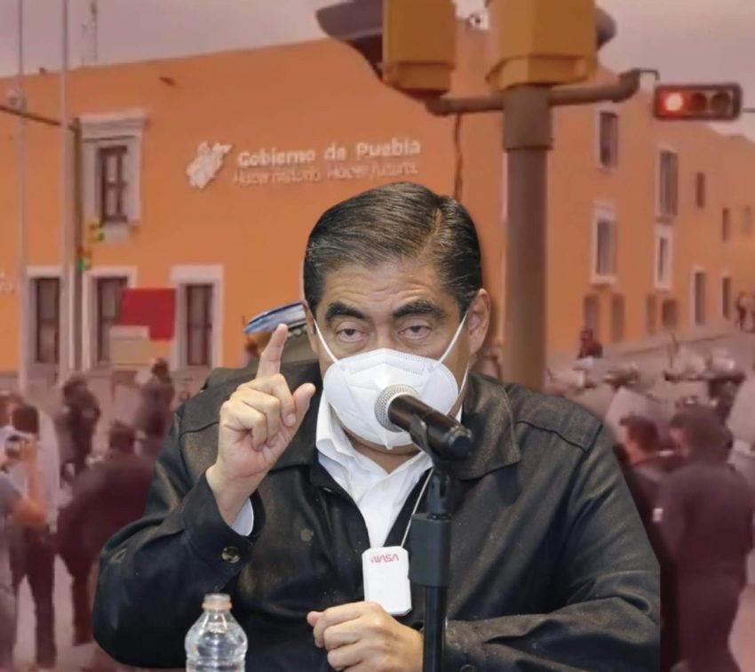 Gobierno de Puebla limita derecho a la manifestación, acusa CNDH