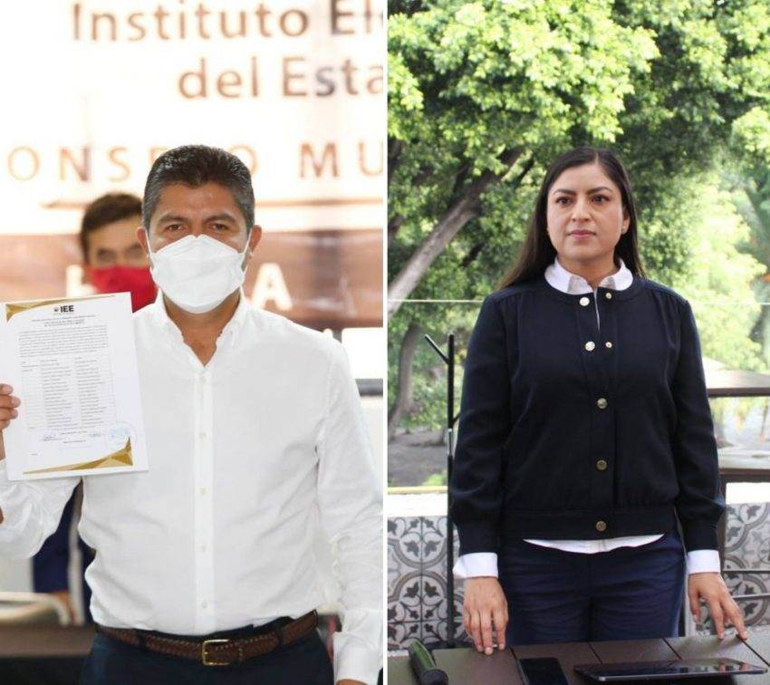 Declaran triunfo de Eduardo Rivera; Claudia acepta, pero denuncia anomalías