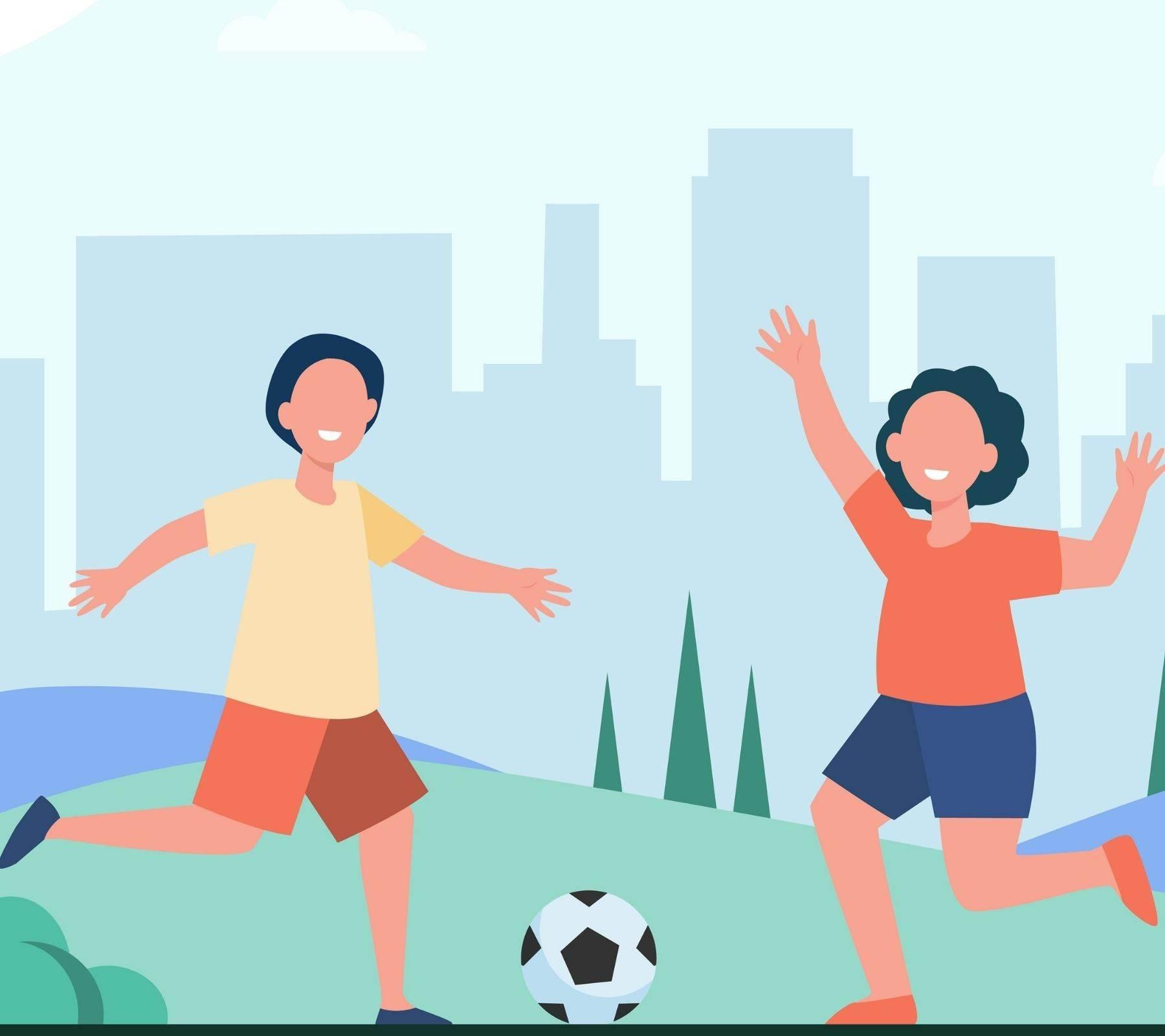 curso de verano 2021 puebla niños jugando