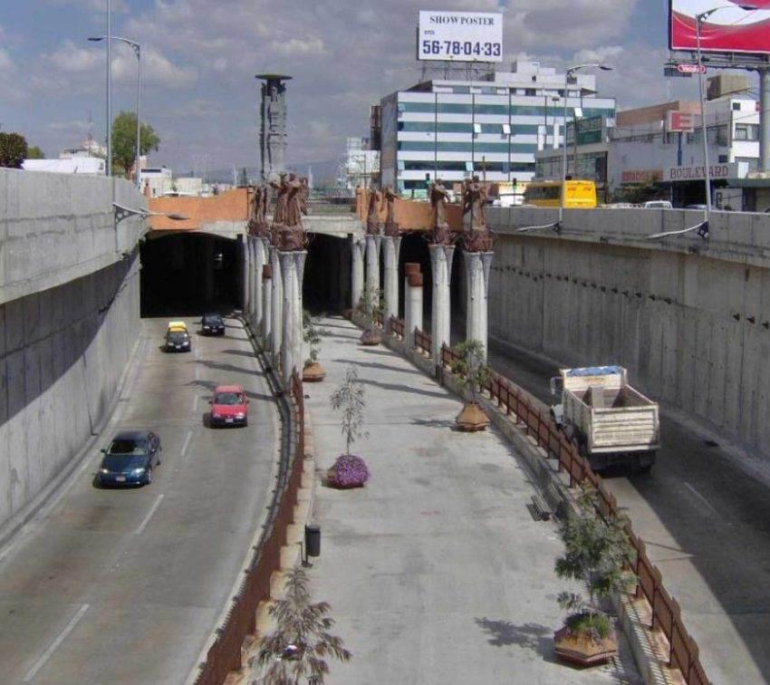 Encuentran falla estructural en viaducto elevado Juárez Serdán, en Puebla