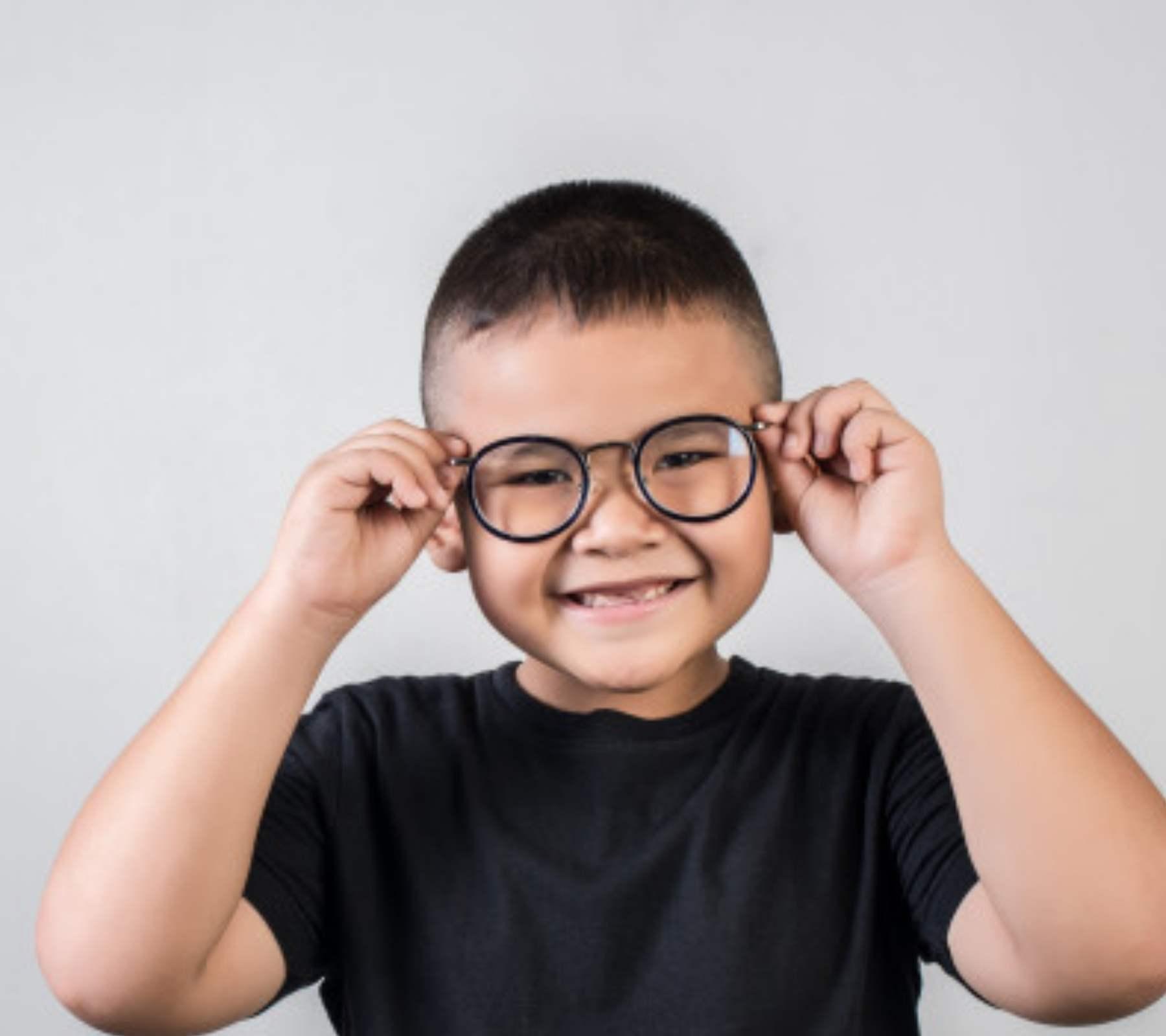 examen de la vista para niños