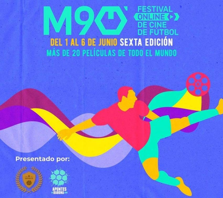 Futbol y cine: arranca la sexta edición del festival Minuto 90