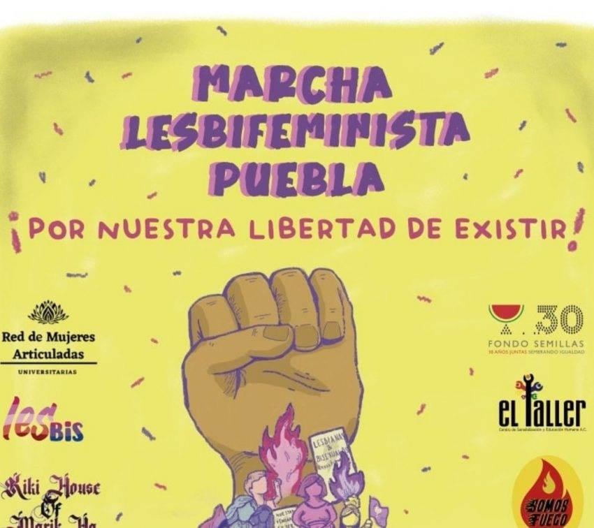 Realizarán marcha lesbifeminista en Puebla capital