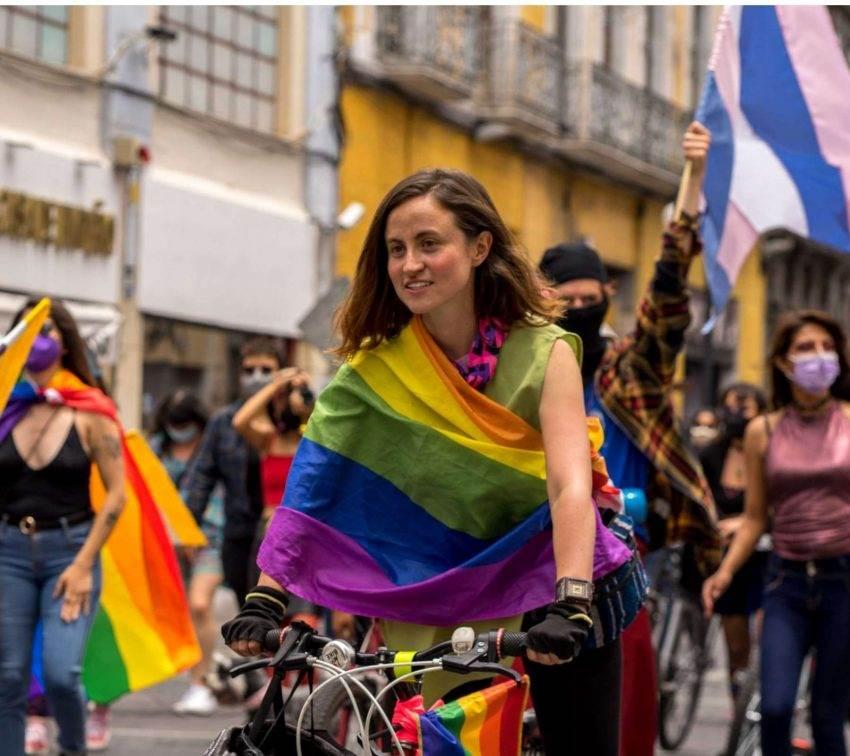 25 postales y retratos para celebrar la Marcha Lesbifeminista en Puebla