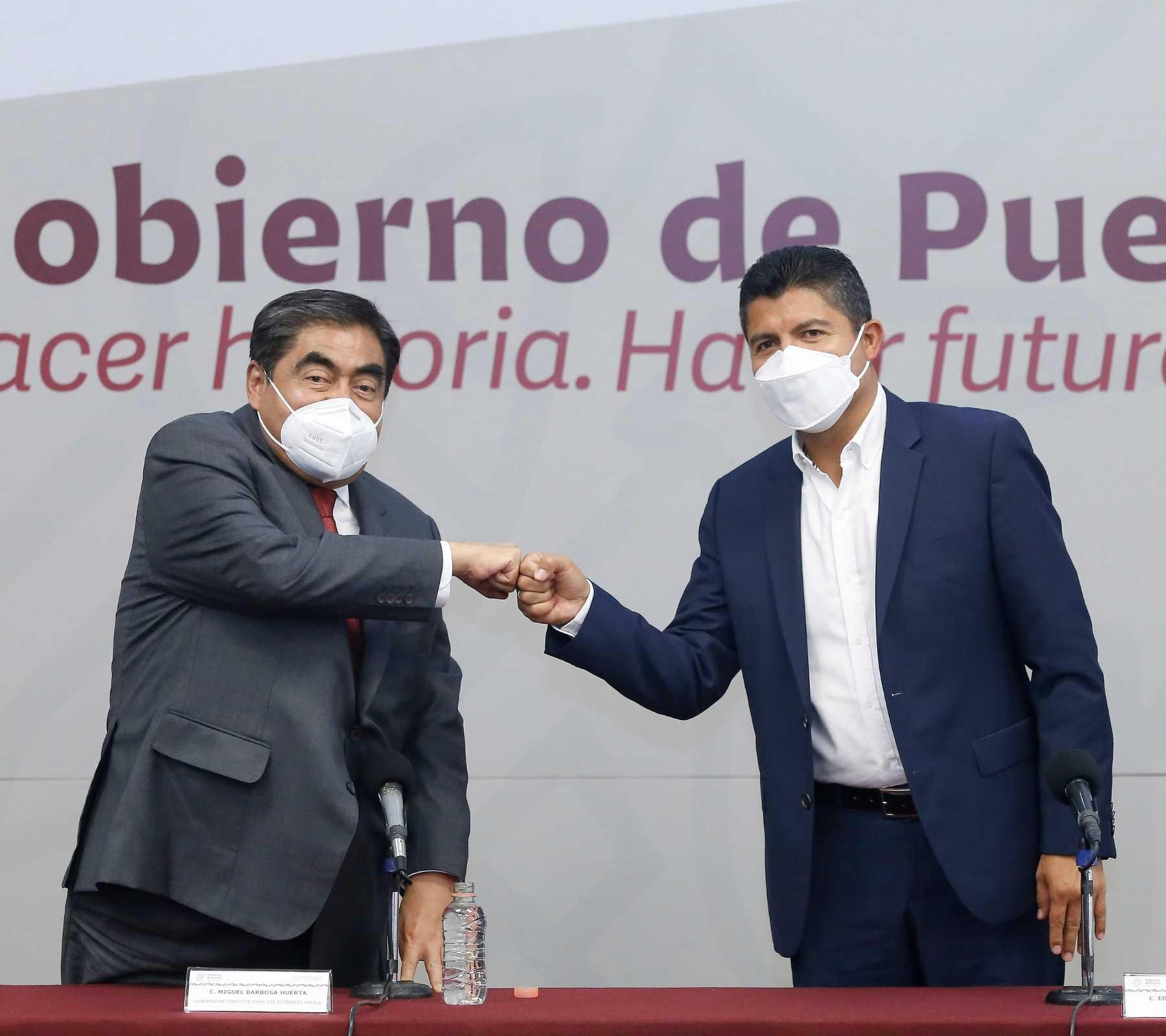 Reunión Miguel Barbosa Eduardo Rivera