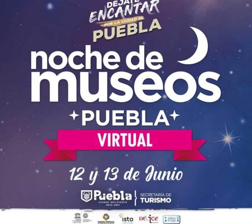 Vuelve la Noche de Museos a Puebla de forma virtual