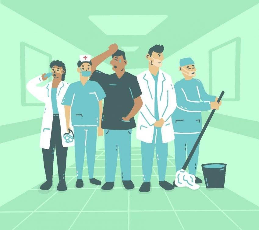 Héroes de la pandemia en Puebla: historias del personal de salud poblano