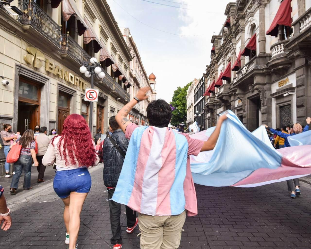 personas trans marcha
