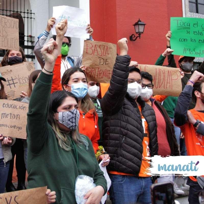 alumnos protesta udlap