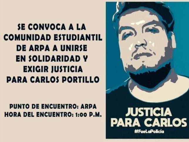 Carlos portillo, un joven artista egresado de la BUAP