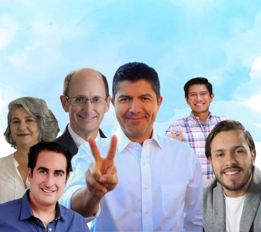¿Quiénes son los regidores que Eduardo Rivera incluyó en su planilla para el Cabildo de Puebla?