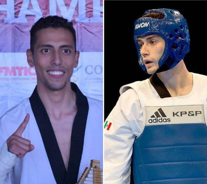 René Lizárraga y Carlos Navarro ganan oro para México en Panamericano de Taekwondo