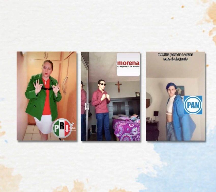 «Outfits» para ir a votar, el nuevo reto en TikTok