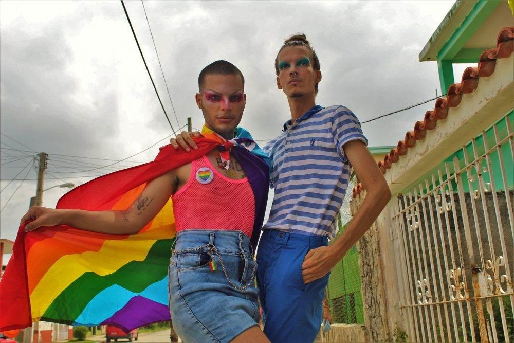 integrantes de colectivos lgbt cuba