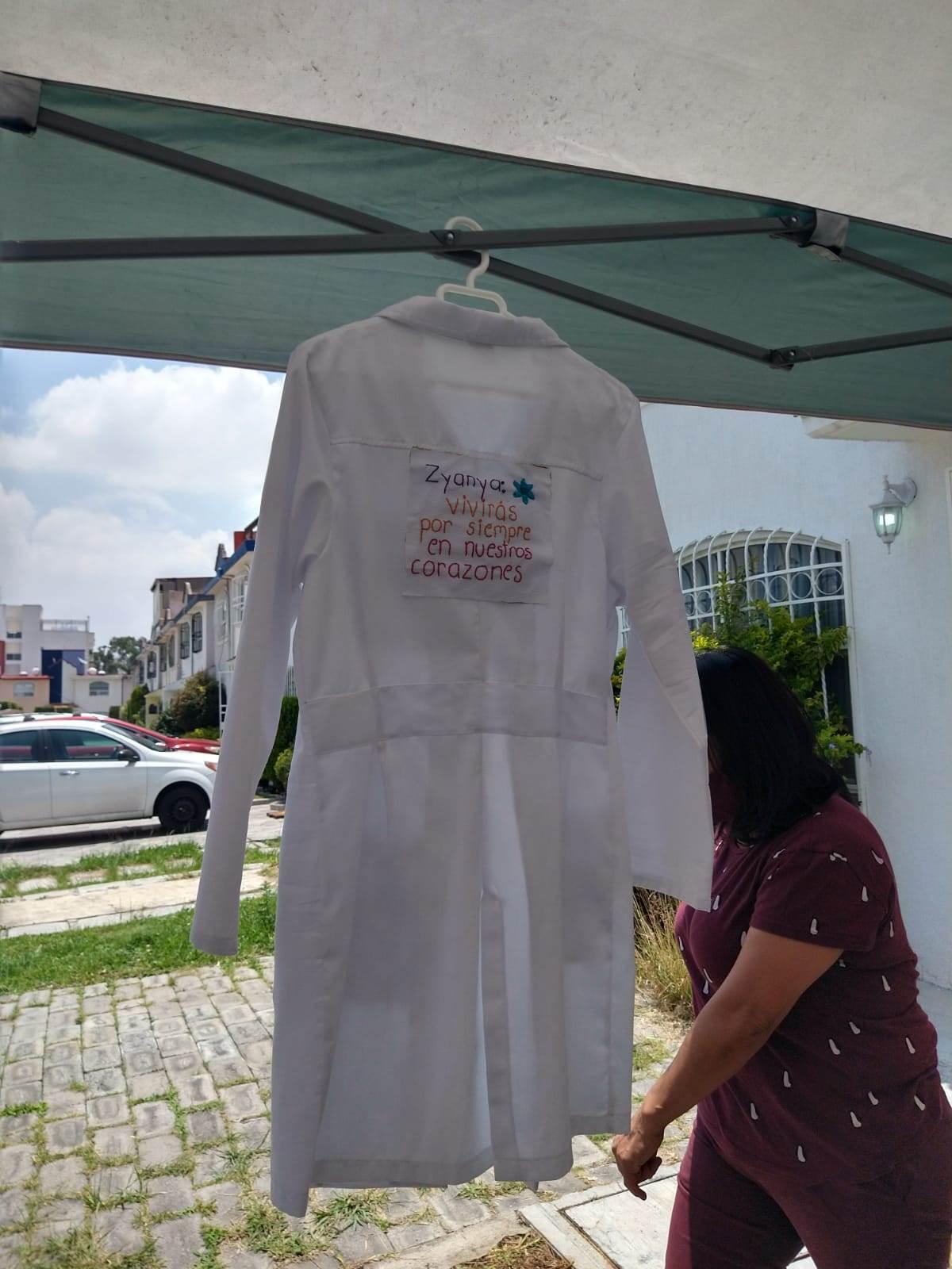 Zyanya Figueroa Becerril era médica residente en el Hospital del Niño Poblano hasta antes de que fuera hallada sin vida en su domicilio. Fotografía: Guadalupe Juárez