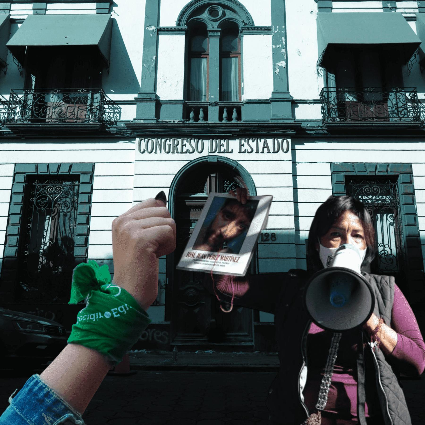 Congreso de Puebla aborto y desaparecidos sin aprobar