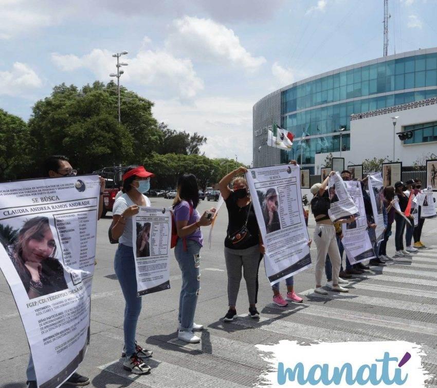 Exigen a la Fiscalía de Puebla acelerar búsqueda de Claudia Andrea Ramos