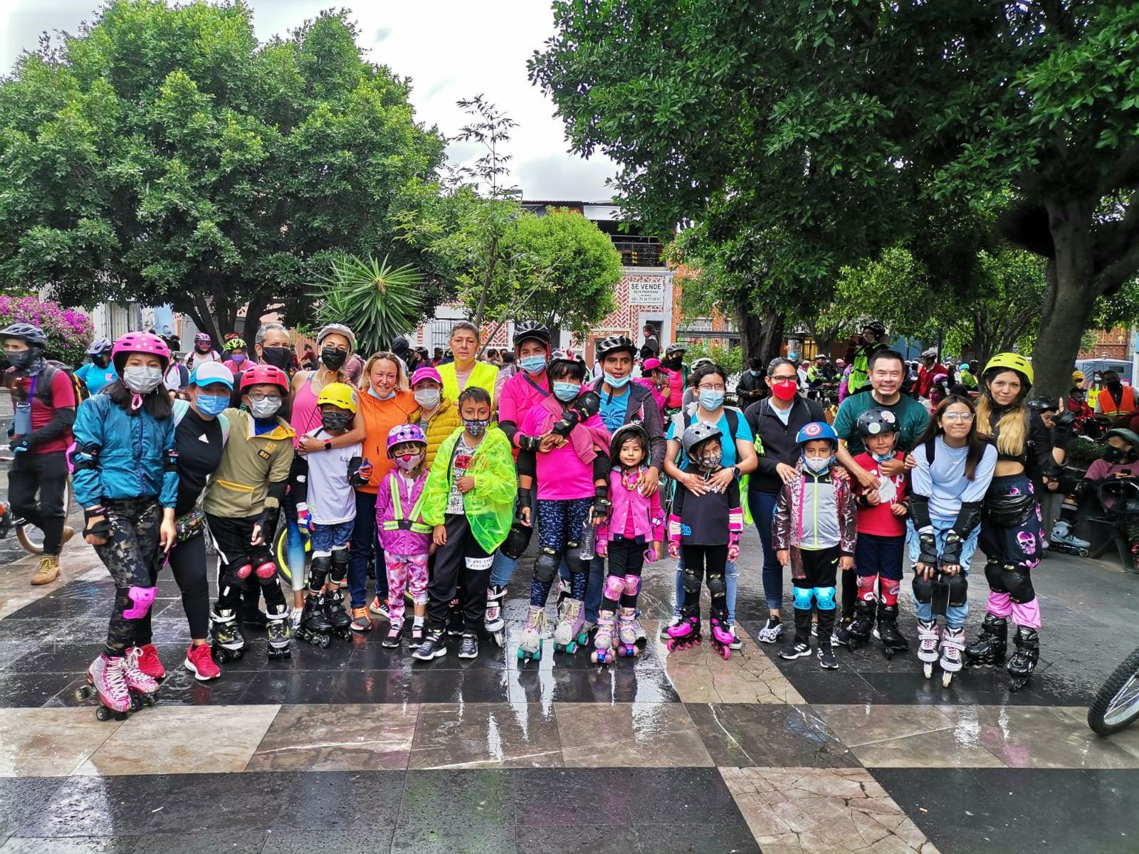 La infraestructura ciclista en la ciudad de Puebla ha sido creada sobre todo como recreación, y no como una vía de transporte para personas que se desplazan al trabajo. Fotografías de Femcilista
