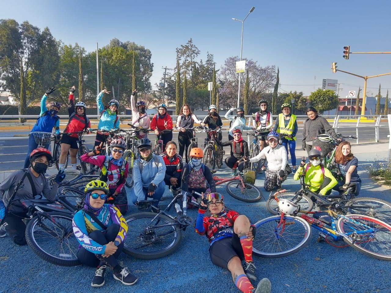 El Colectivo FemCiclista Chikiciwaj considera que uno de los grandes pendientes en la agenda ciclista es la aplicación de sanciones más altas contra la violencia vial. Fotografías de Femcilista