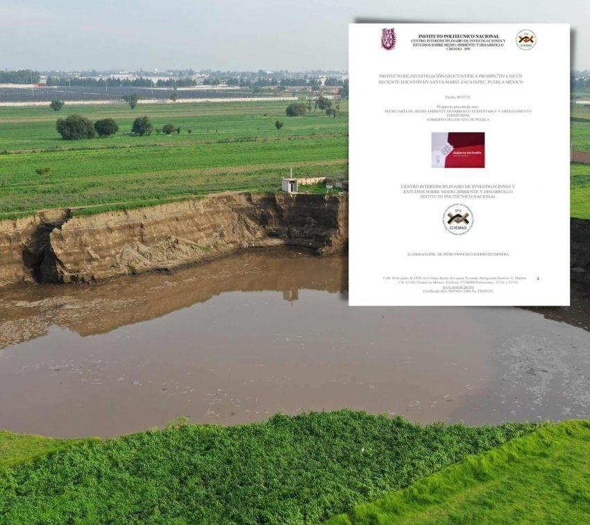 La polémica del estudio del IPN sobre el socavón