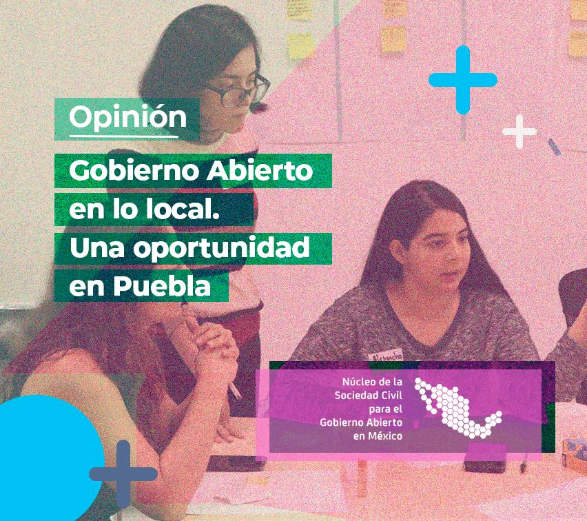 Gobierno Abierto en Puebla. Imagen ilustrativa