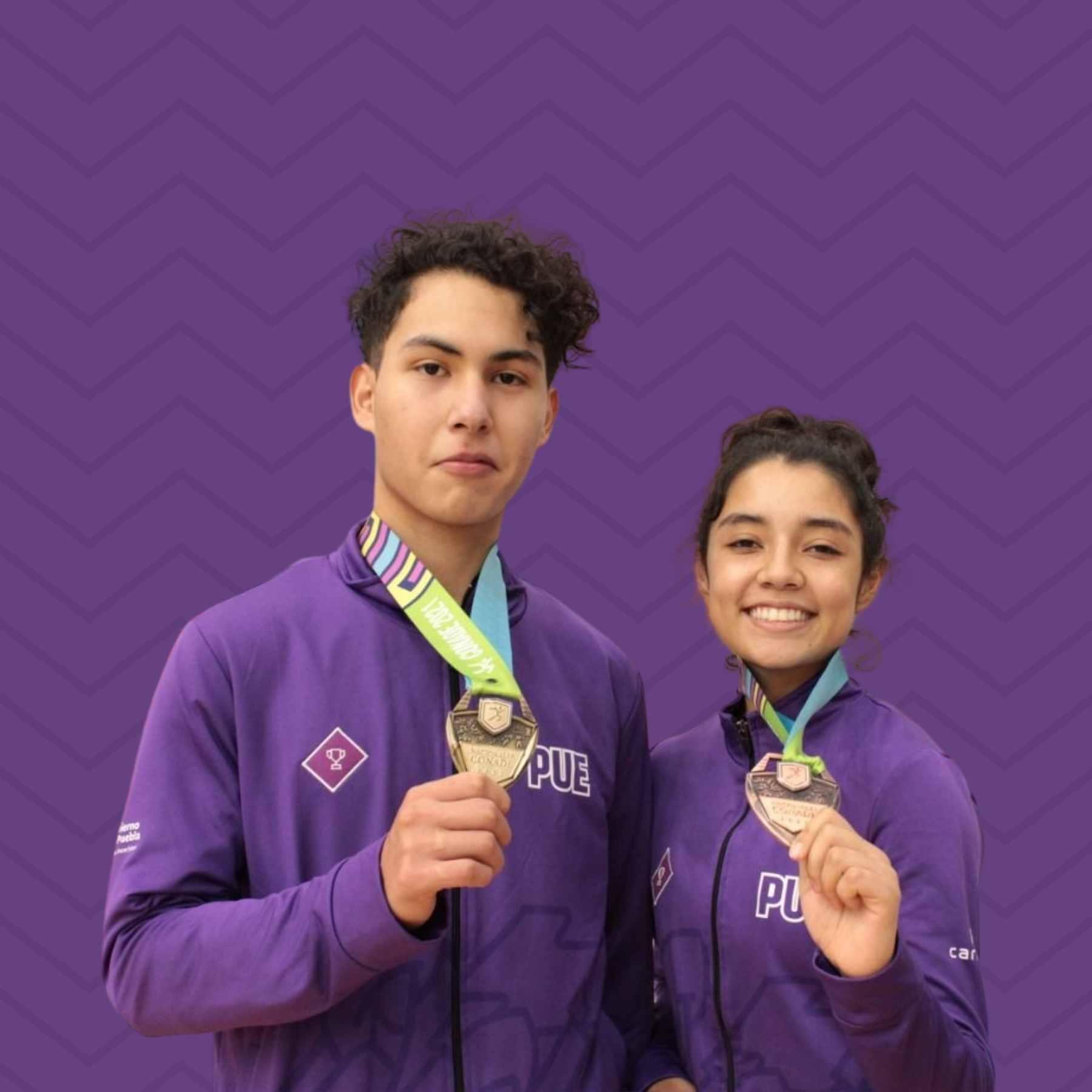 La delegación poblana de taekwondo obtuvo siete medallas, dos de oro y cinco de bronce, en los Nacionales CONADE 2021.