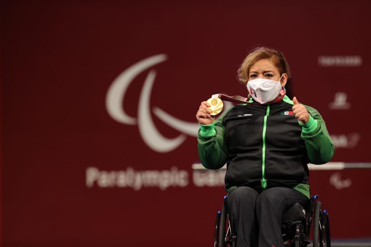 Amalia Pérez obtuvo una medalla de Oro en los Juegos Paralímpicos de Tokio 2020