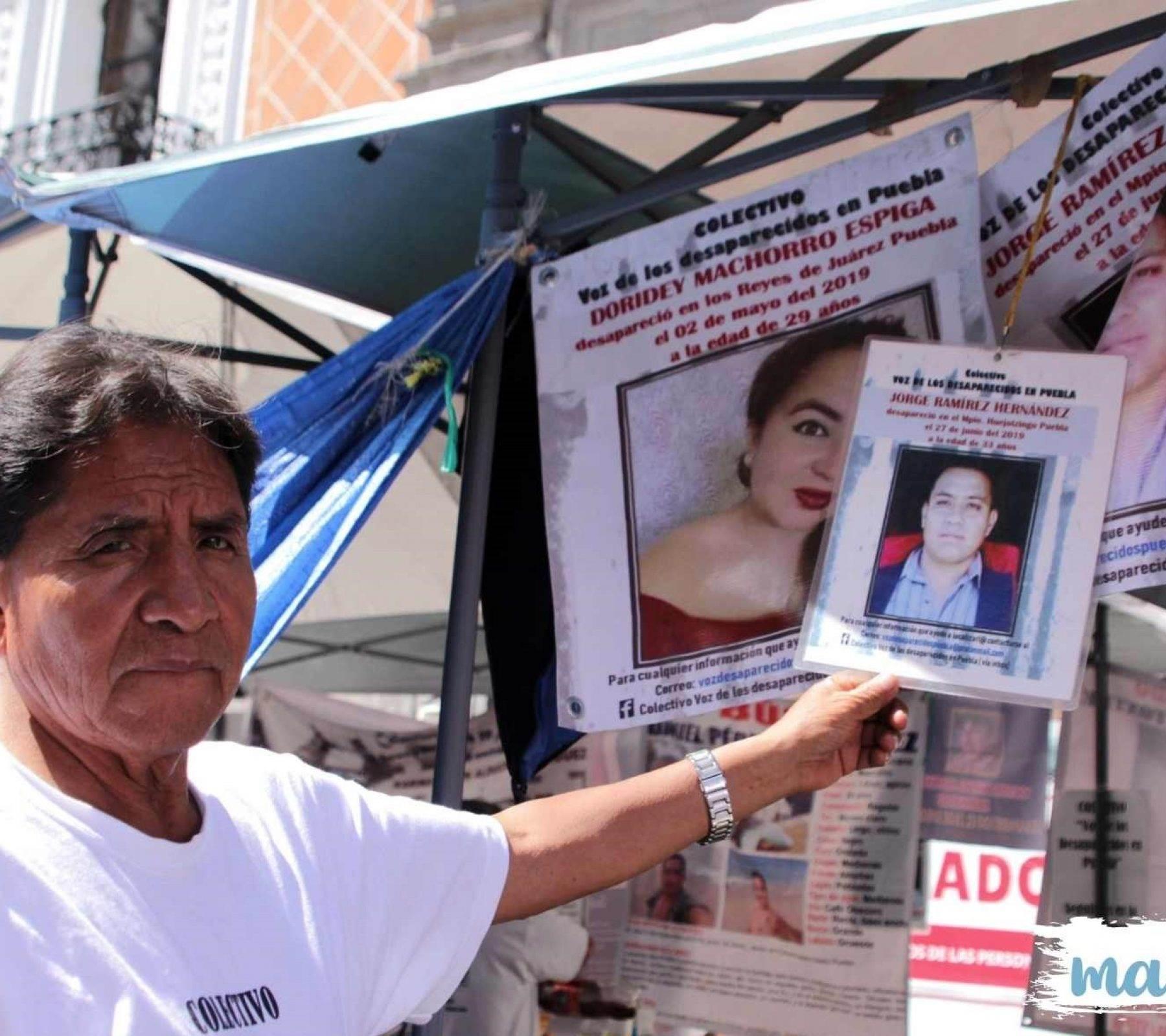 ley desaparición forzada Puebla