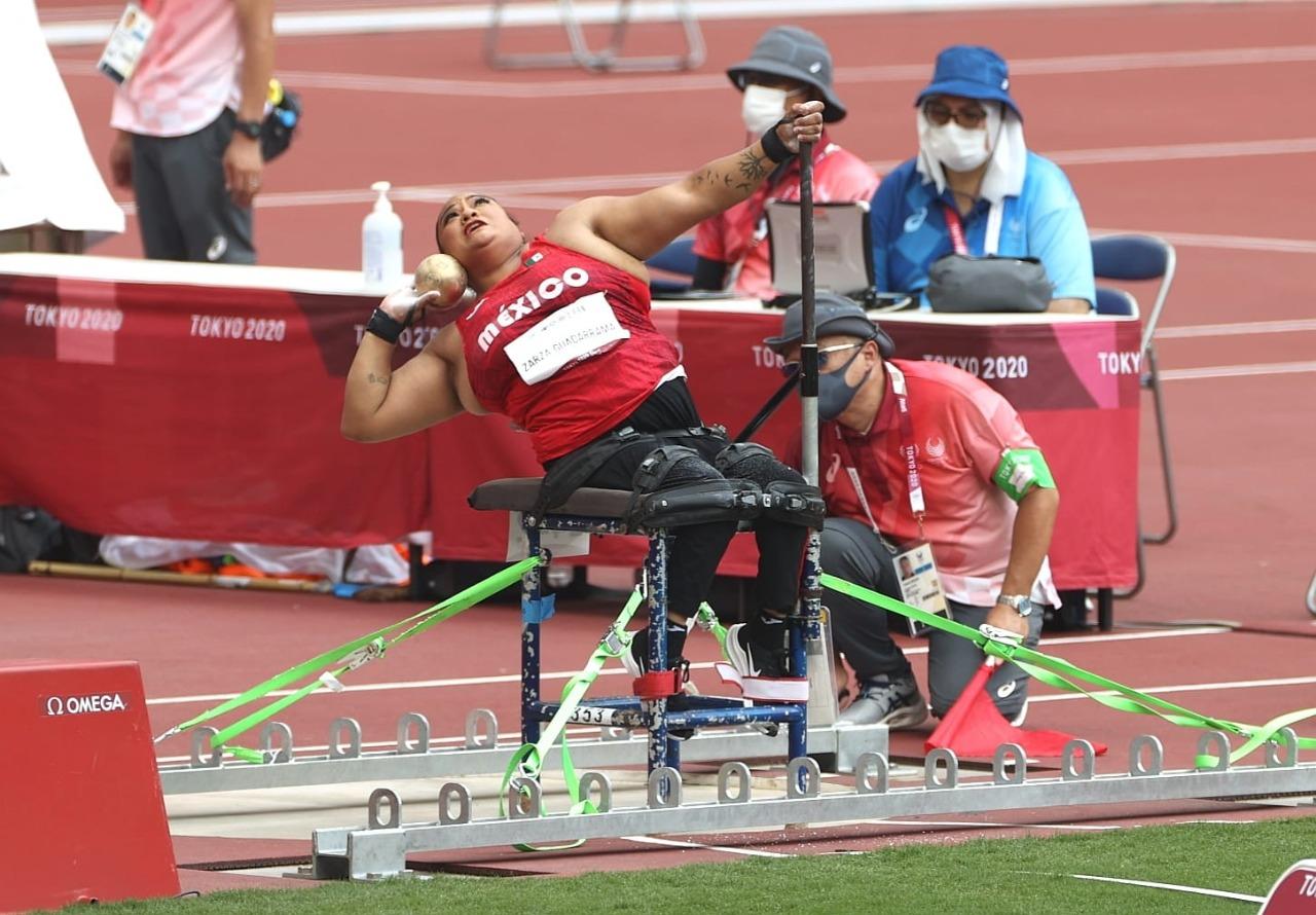 Gloria Zarza obtuvo una medalla de plata en los Juegos Paralímpicos de Tokio 2020