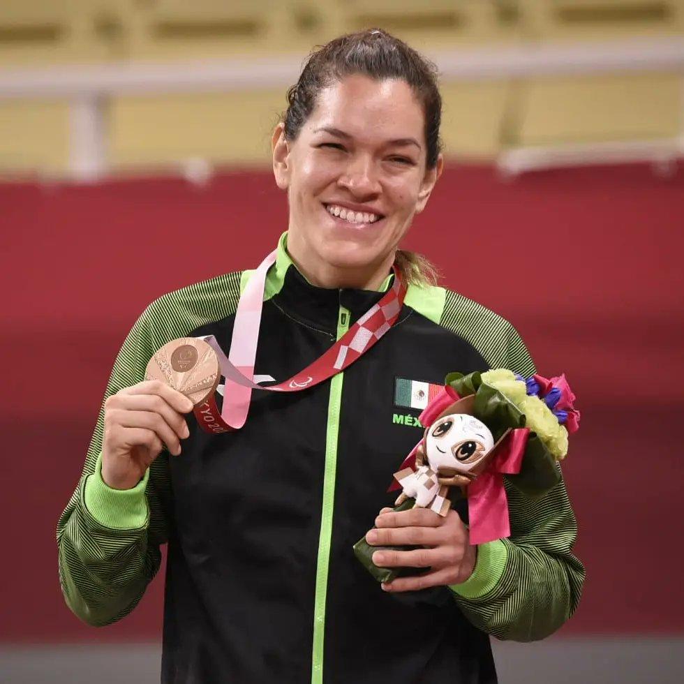 Lenia Ruvalcaba obtuvo una medalla de bronce en Judo