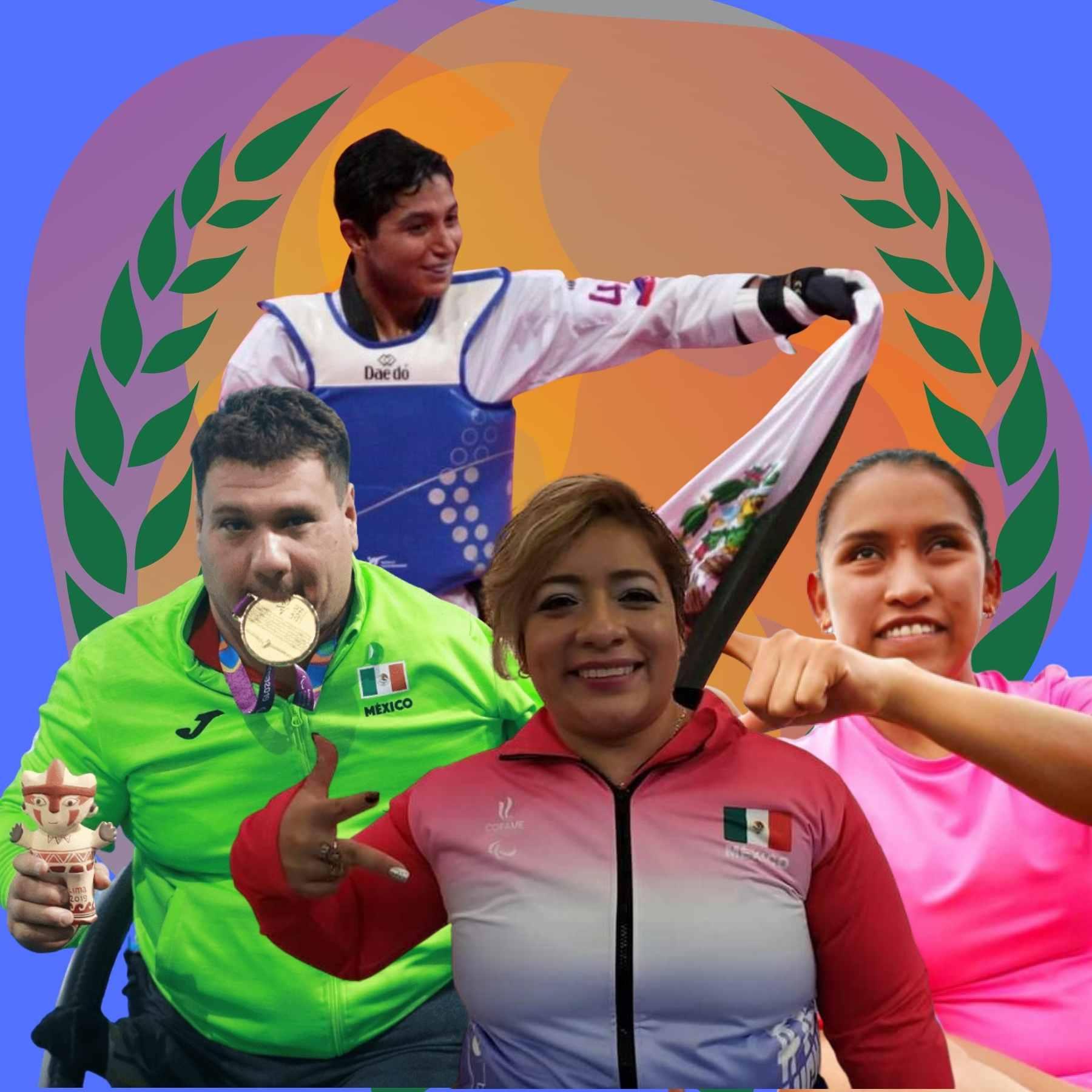 atletas méxico juegos paralímpicos
