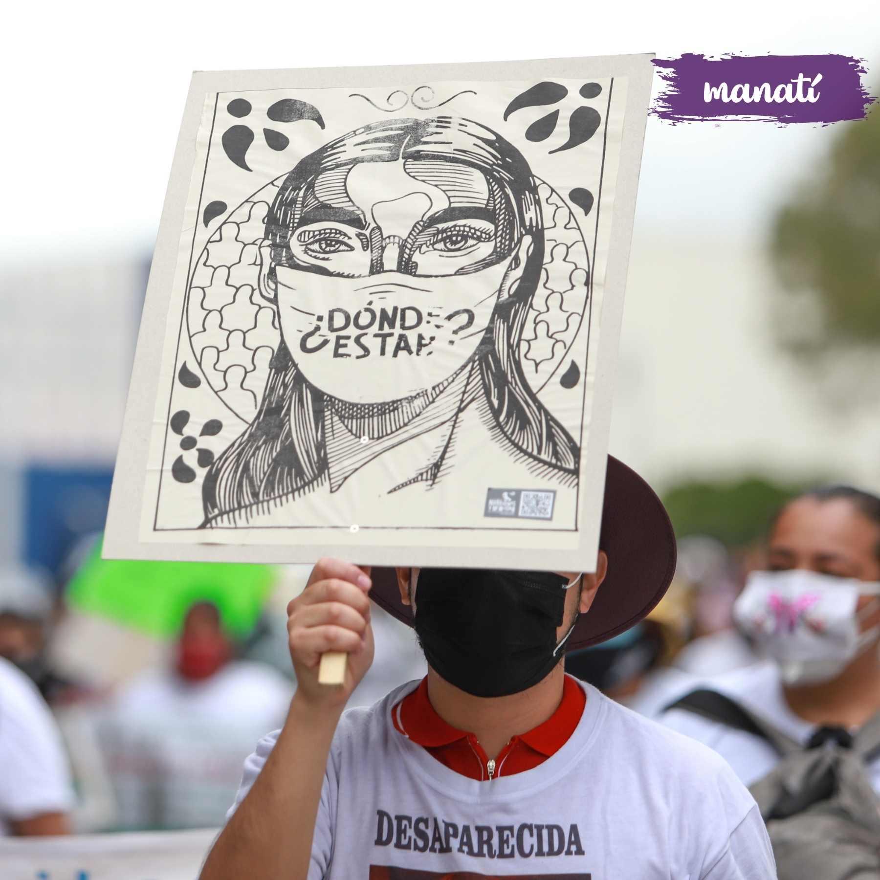 marcha colectivos desaparecidos