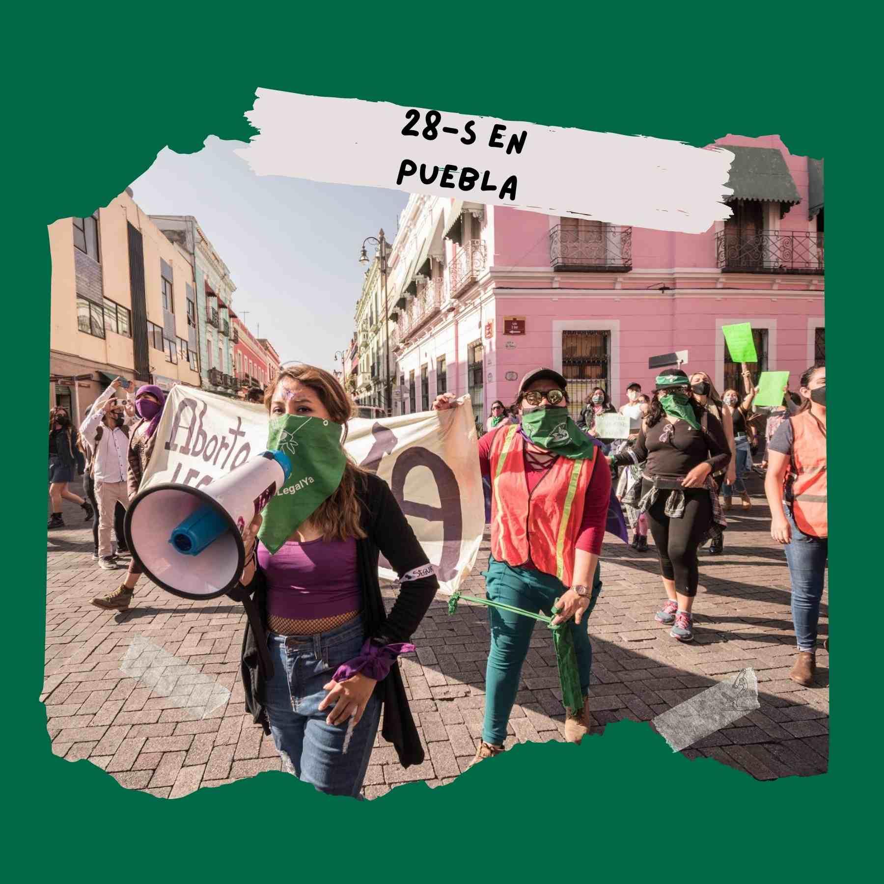 despenalización del aborto Puebla 28 de septiembre 2021
