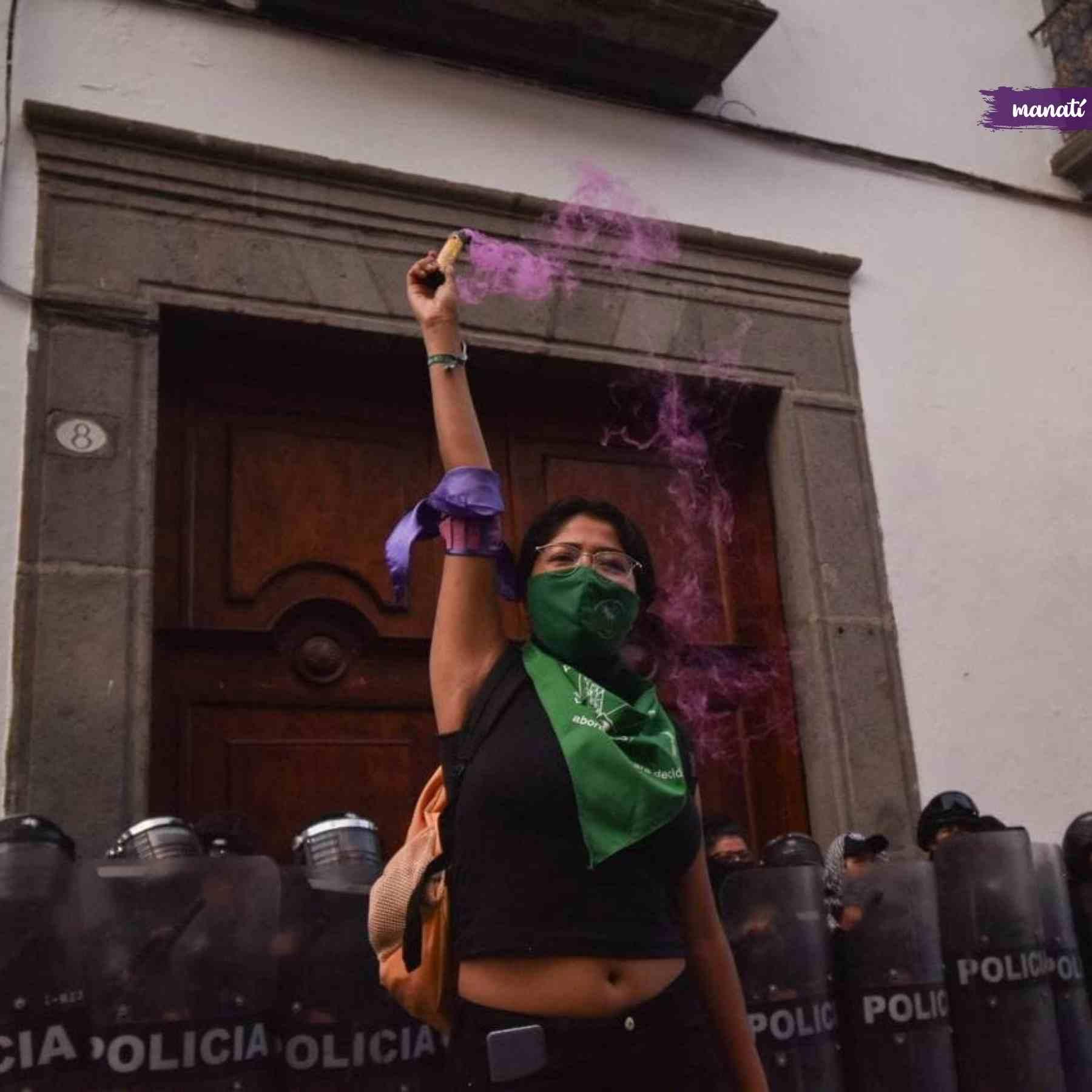 marcha aborto Puebla