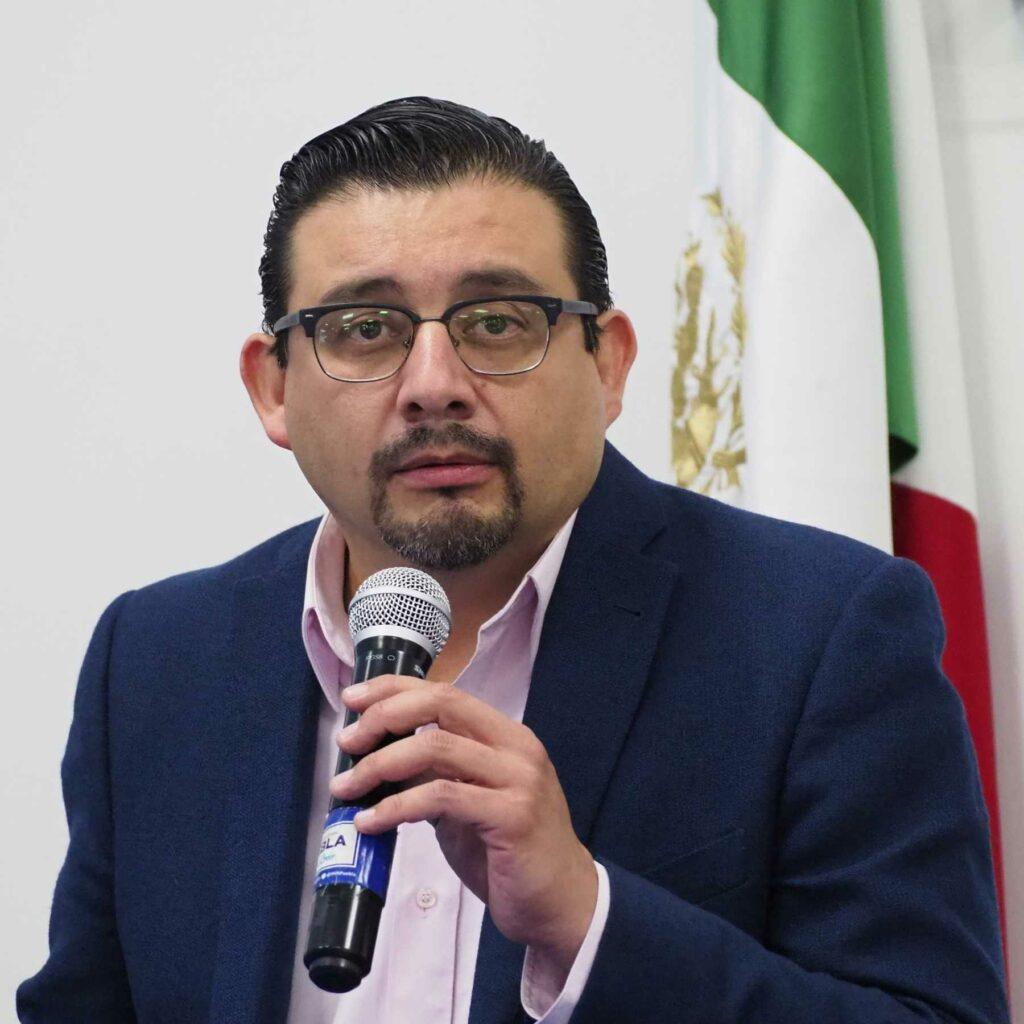 Eduardo Alcántara es uno de los nuevos diputados locales de Puebla. Fotografía: Agencia Es Imagen