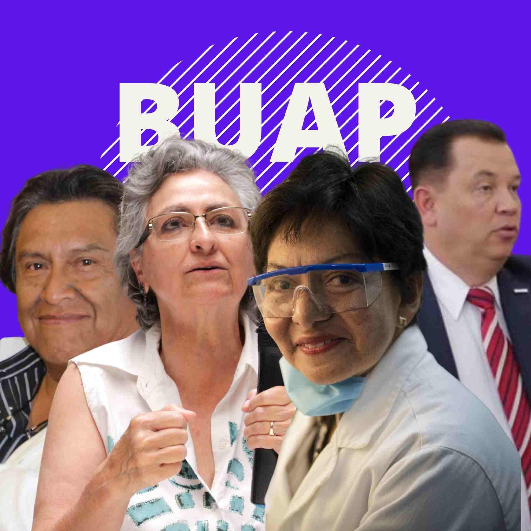 candidatos a la elección interna de la rectoría de la buap
