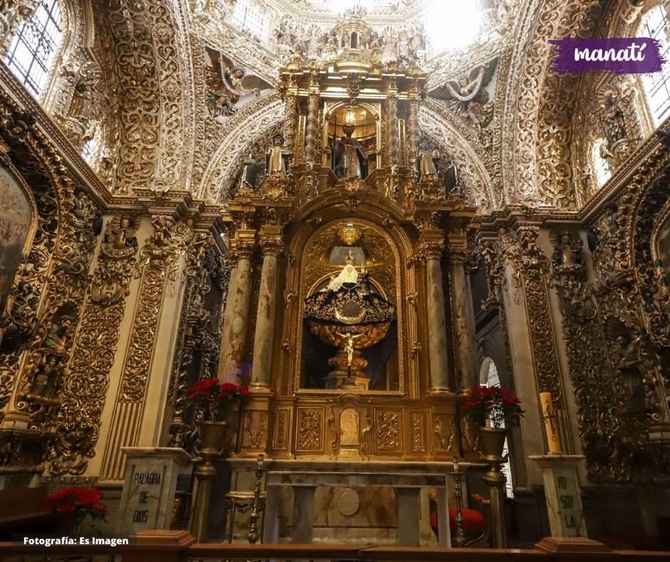 capilla del rosario lugares para conocer en Puebla