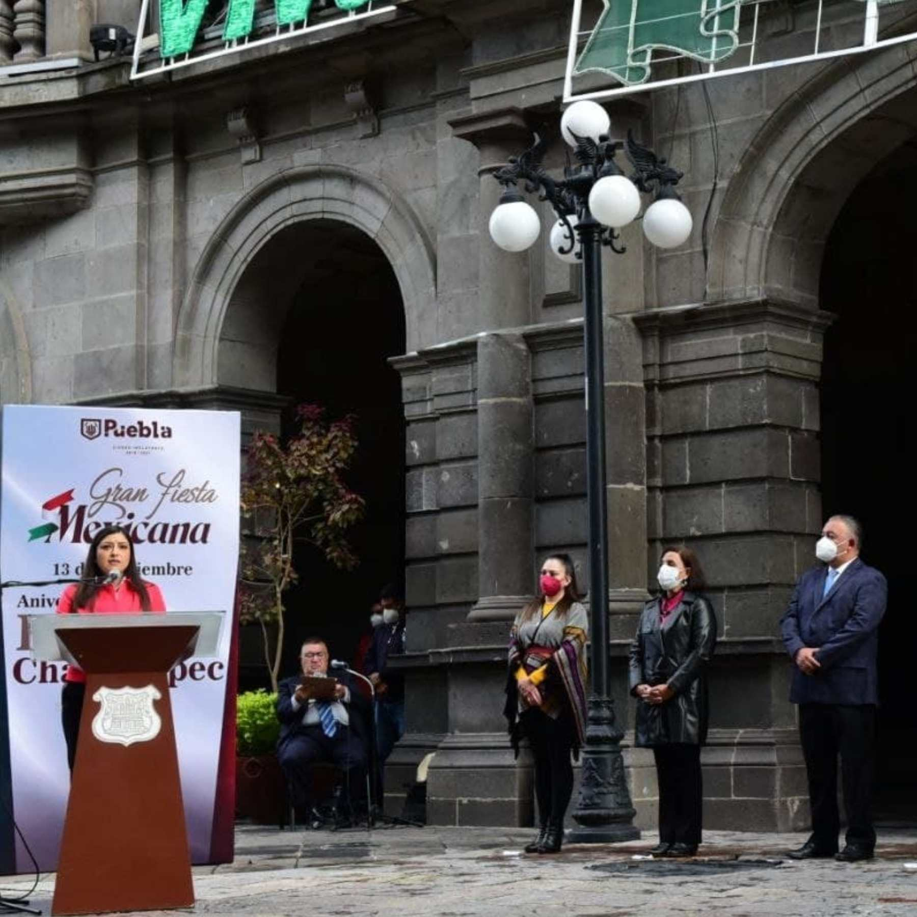 Conmemoran en Puebla gesta heroica de la defensa del Castillo de Chapultepec