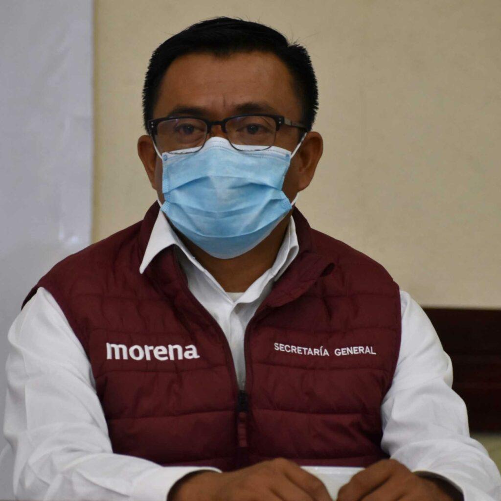Edgar Garmendia, ex dirigente de Morena, será uno de los nuevos diputados locales de Puebla. Fotografía: Agencia Es Imagen