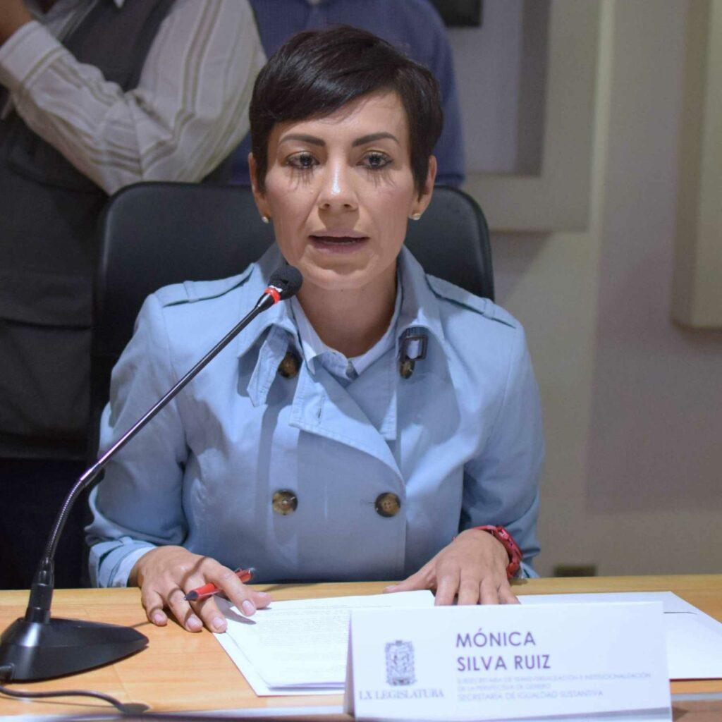 Mónica Silva Ruiz, una de las nuevas diputadas locales.