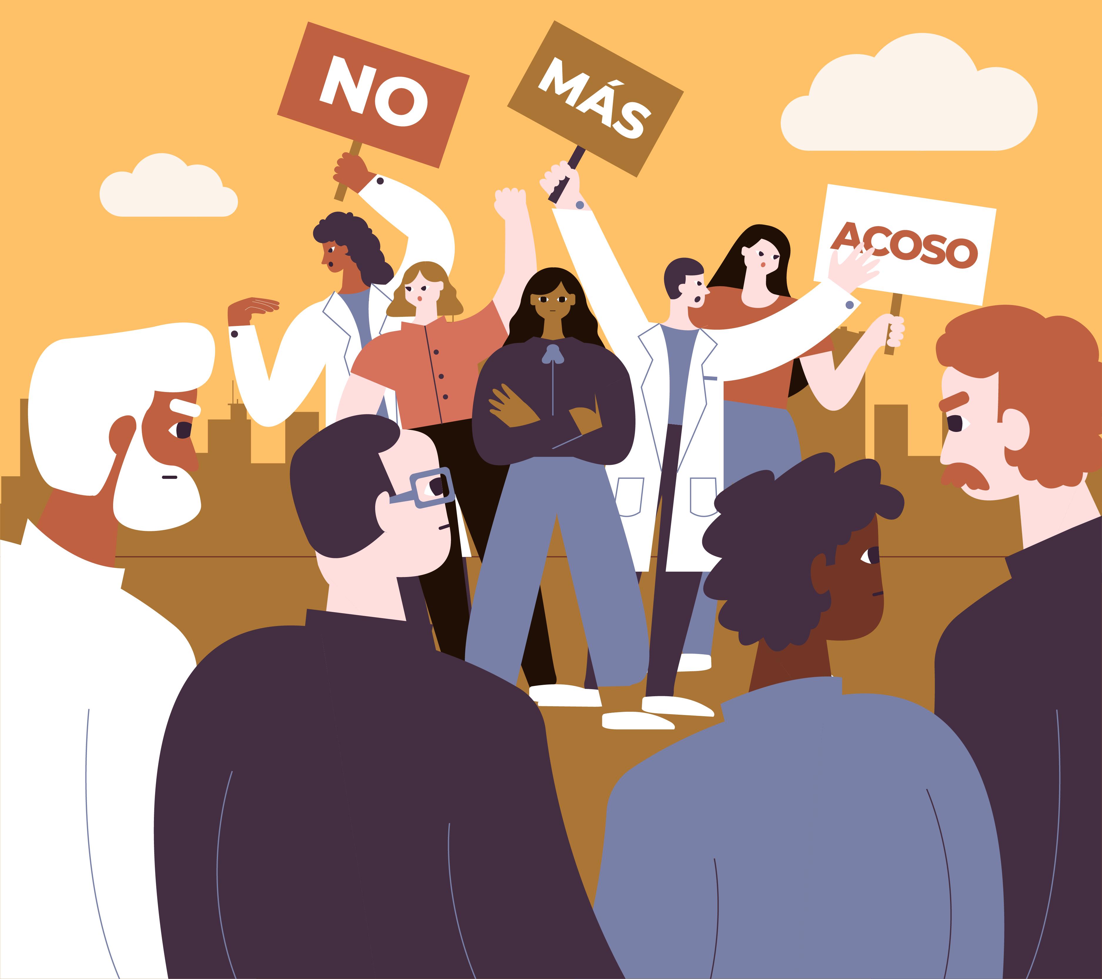 no más acoso en universidades de Puebla